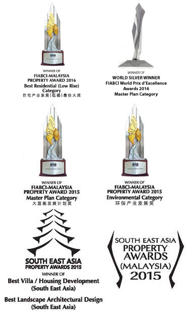 Senibong Cove Awards